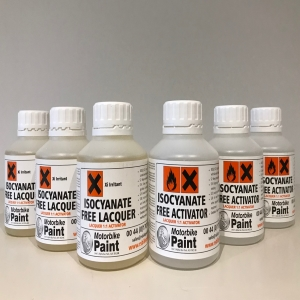 500ml (1 pint) pack 2K Clearcoat